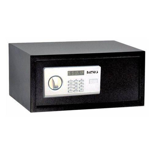 Cofre Digital Eletrônico Aço Carbono Senha Chave Guarda Arma Dinheiro Jóias Documentos S200GF 35x43x20cm Batiki