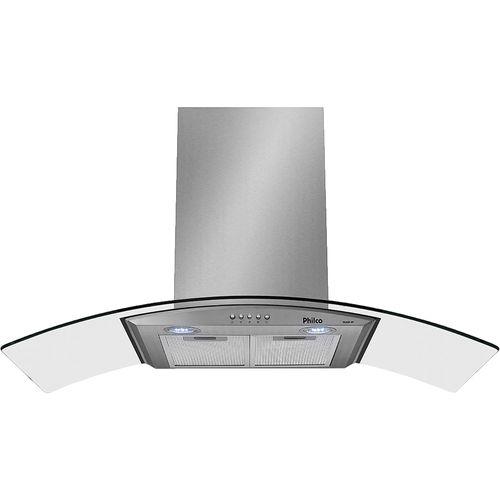Coifa de Parede 60cm Philco Glass 60 Inox 110V