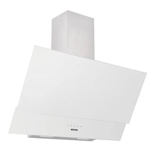 Coifa de Parede 90 Cm em Aço Inox + Vidro Branco 220 V Tramontina 94835/220