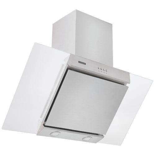Coifa de Parede 90 Cm em Aço Inox + Vidro Branco 127 V Tramontina 94829/111