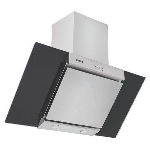 Coifa de Parede 90 Cm em Aço Inox + Vidro Preto 220 V - Tramontina