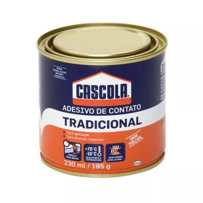 Cola Adesivo de Contato - Cascola Tradicional - 230ml