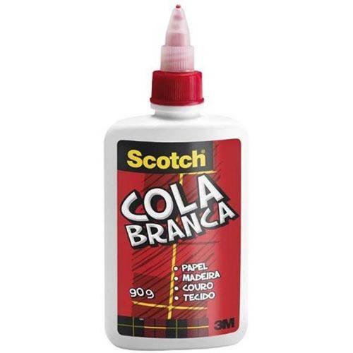 Cola Branca Escolar 90g 3m Scotch 01540