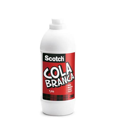 Cola Branca Scotch 3M 1kg