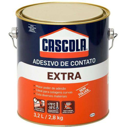 Cola Cascola Extra S/ Toluol 2,8kg