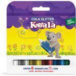 Cola com Glitter Koala 6 Cores