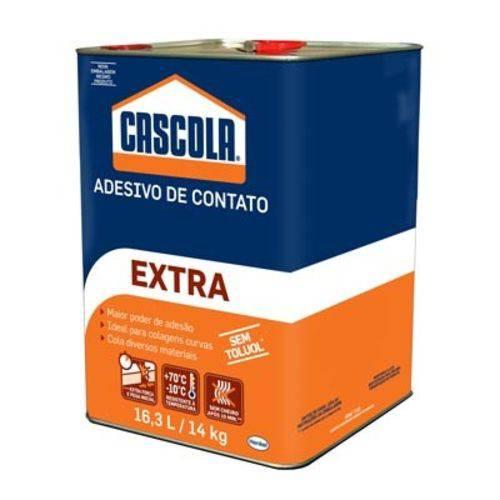 Cola Contato 14kg=16,0l Extra Sem Toluol Cascola