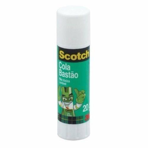 Cola em Bastão 20g Scotch - Kit C/ 06 Unidades