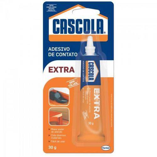 Cola Extra Sem Toluol 30g Cascola Henkel