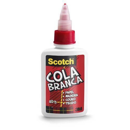 Cola Líquida Branca Scotch 40g - 3m