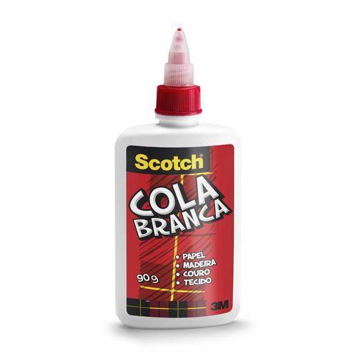 Cola Líquida Branca Scotch 90g - 3m