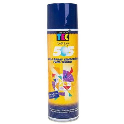 Cola Spray Temporaria para Tecido 500 Ml Toke e Crie (505)