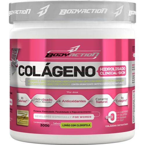 Colágeno Clinical Skin 300gr - Body Action