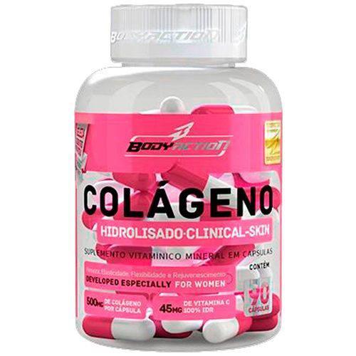 Colágeno Clinical Skin 90 Cápsulas - Body Action