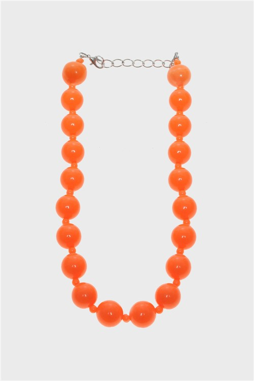 Colar Super Orange Laranja-Único