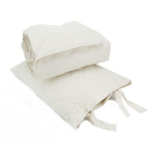 Colcha Boutie Emporio Daily Caqui com Porta Travesseiros