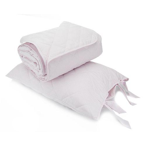 Colcha Boutie King Emporio Daily Rosa com Porta Travesseiros