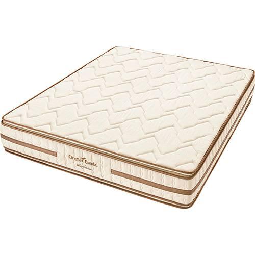 Colchão Casal Americanflex Clinoflex Bambu Pillow Top Espuma D45 - 138x188x24cm