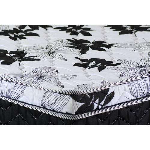 Colchão de Mola Casal Sleeping Black - Paropas