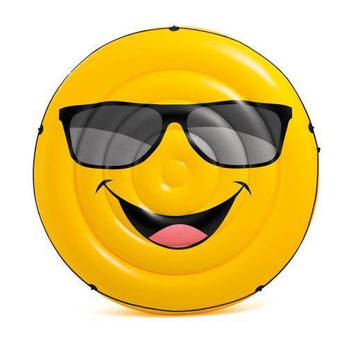Colchão Ilha Inflável para Piscina Emoji - Intex