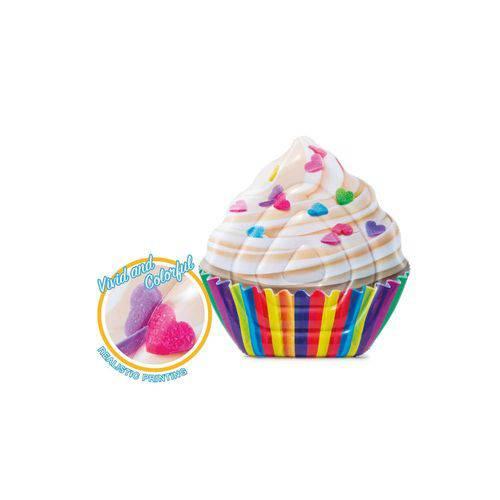 Colchão Inflável para Piscina Cupcake