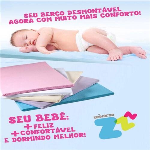 Colchonete Baby Performance de Látex Branco 78x113cm - Fibrasca