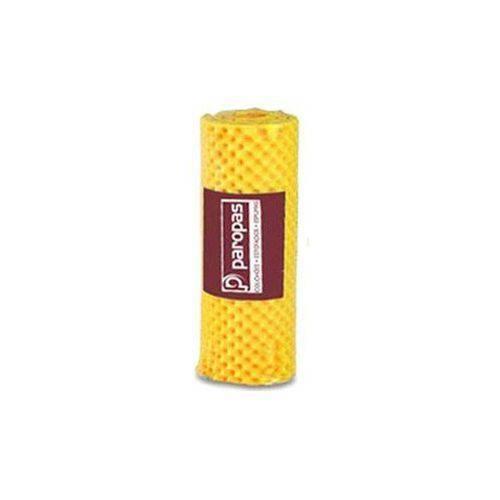 Colchonete Paropas Perfilado Amarelo - Casal - 1,26x1,86x0,05