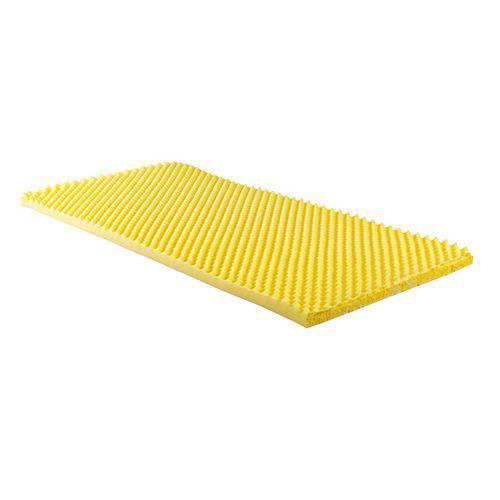 Colchonete Paropas Perfilado Amarelo - Colchonete Solteiro - 0,76x1,86x0,05