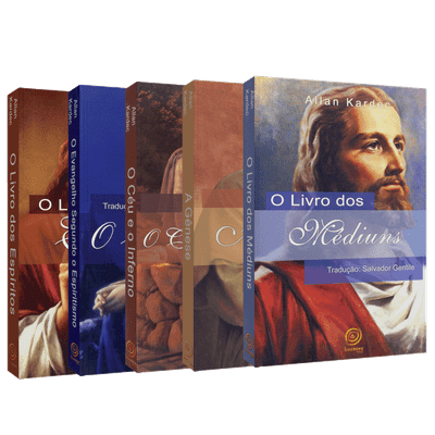 Coleção Allan Kardec [5 Volumes - BOA NOVA]