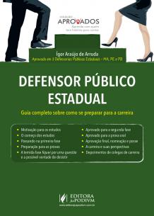 Coleção Aprovados - Defensor Público Estadual (2017)