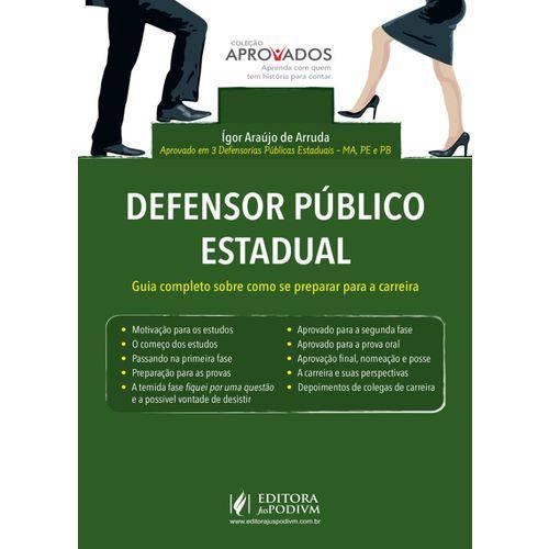 Coleção Aprovados - Defensor Público Estadual