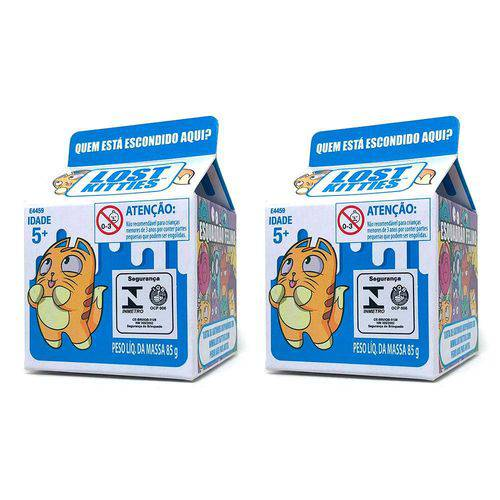 Colecao com 2 Mini Figuras Surpresa - Lost Kitties - Single Packs - Hasbro