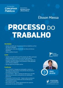 Coleção Concursos Públicos - Processo do Trabalho (2019)