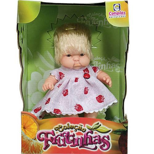 Coleção Frutinhas - Boneca com Essência de Morango - Cotiplás