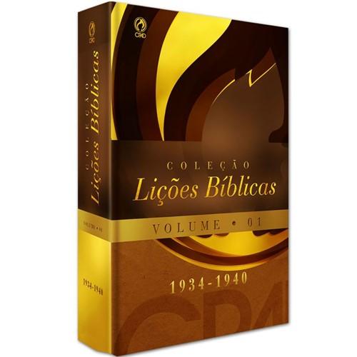 Coleção Lições Bíblicas (1934 - 1940) - Volume 01