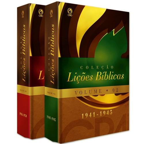 Coleção Lições Bíblicas(1941 - 1950) - Volumes 02 e 03