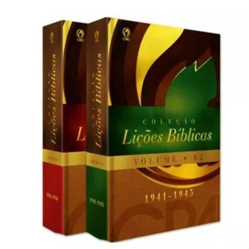 Coleção Lições Bíblicas (1941 - 1950) - Volumes 02 e 03