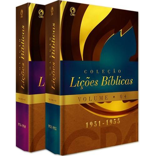 Coleção Lições Bíblicas (1951 - 1960) - Volumes 04 / 05
