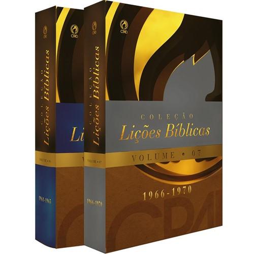 Coleção Lições Bíblicas (1961-1970)Volumes 06/07