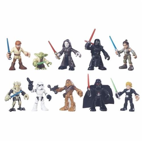 Colecao Mini Bonecos - Star Wars - Jedi e Sith - Rivais Galaticos HASBRO