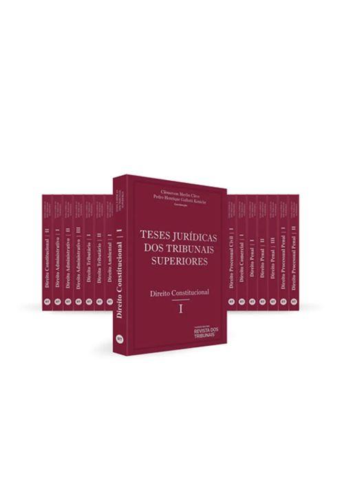 Coleção Teses Jurídicas dos Tribunais Superiores - 19 Tomos - 1ª Edição