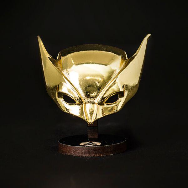 Colecionável de Metal - Mascara Wolverine