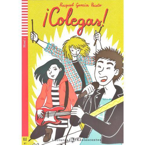 ¡colegas! - Hub Lecturas Adolescentes - Nível 1 - Libro Con Cd Audio - Hub Editorial