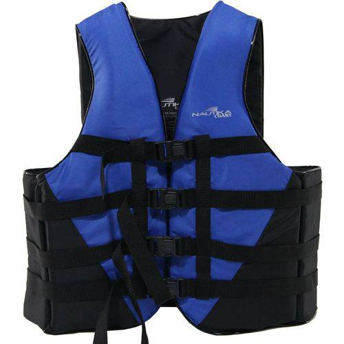 Colete Náutico Esportes Aquáticos Nautika Coast 130Kg Azul