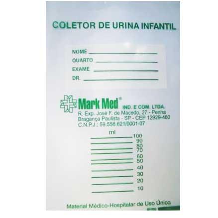 Coletor de Urina Infantil não Estéril Feminino Mark Med