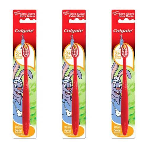 Colgate Dentuço Escova Dental Infantil (kit C/03)