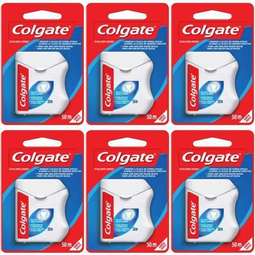 Colgate Fio Dental Nylon 50m (kit C/06)