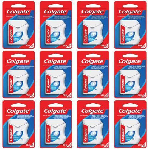 Colgate Fio Dental Nylon 50m (kit C/12)