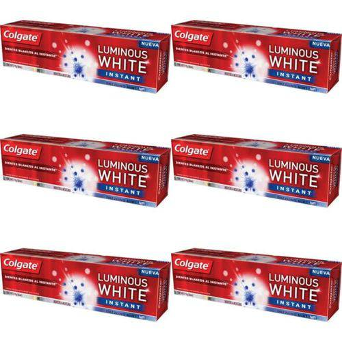 Colgate Luminous Instant White Creme Dental 70g (kit C/06)