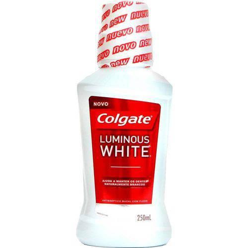Colgate Luminous White Enxaguante Bucal 250ml